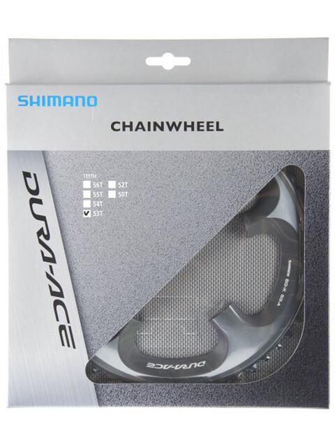 Shimano Dura-Ace FC-7900 - Platos - 10-vel A Plateado
